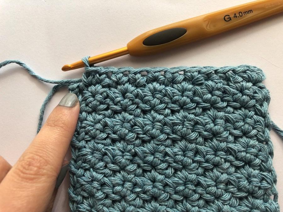 single crochet border