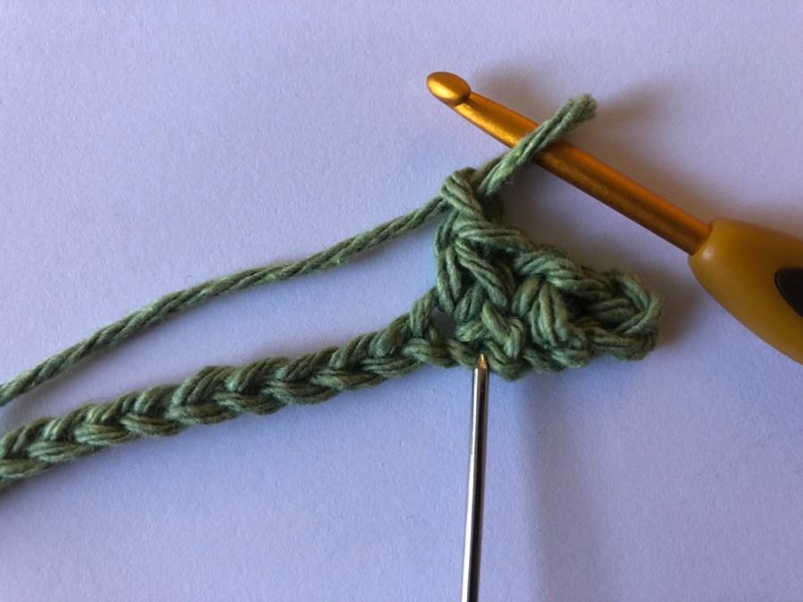 squished single crochet stitch