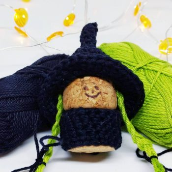 crochet pattern, english or german, witch Hally | 350x350