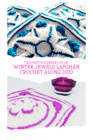Winter Jewels Lapghan CAL