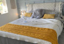 Aran Bed Runner for Lorna