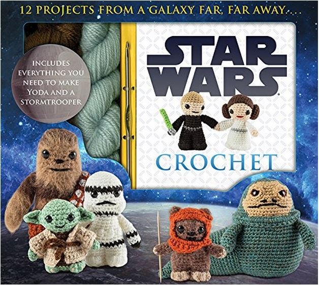 Star Wars Crochet - make all your favorite Star Wars Characters!