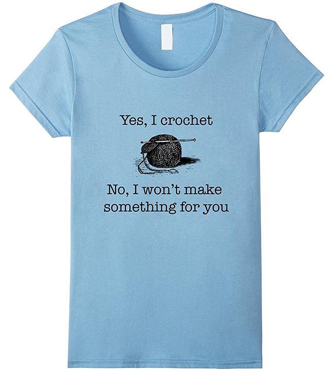Yes I Crochet T-Shirt