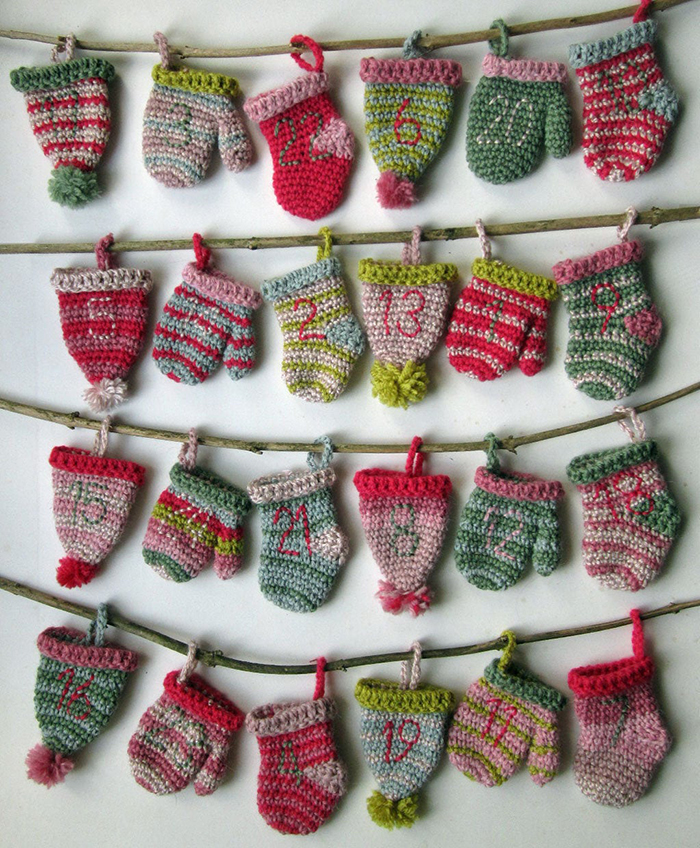 Adorable Crochet Advent Calendar