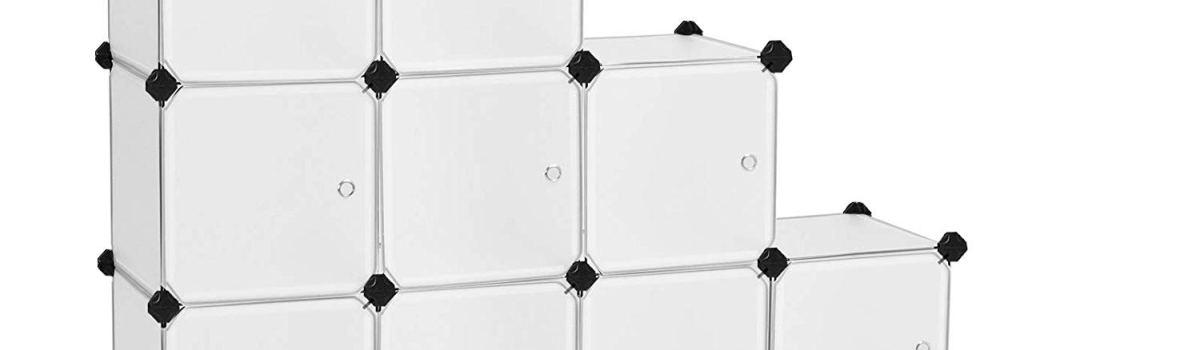 16 Cube DIY Storage Organizer Unit – Perfect for yarn storage