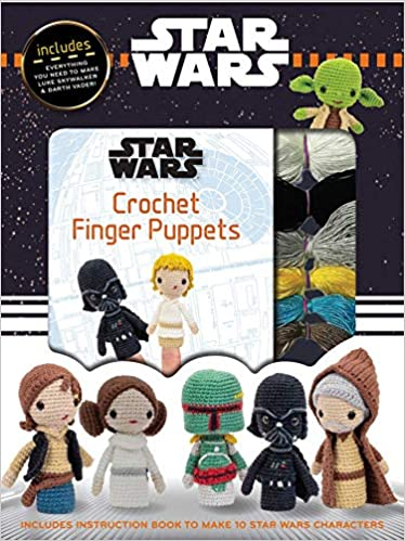 Star Wars Crochet Finger Puppets Kit