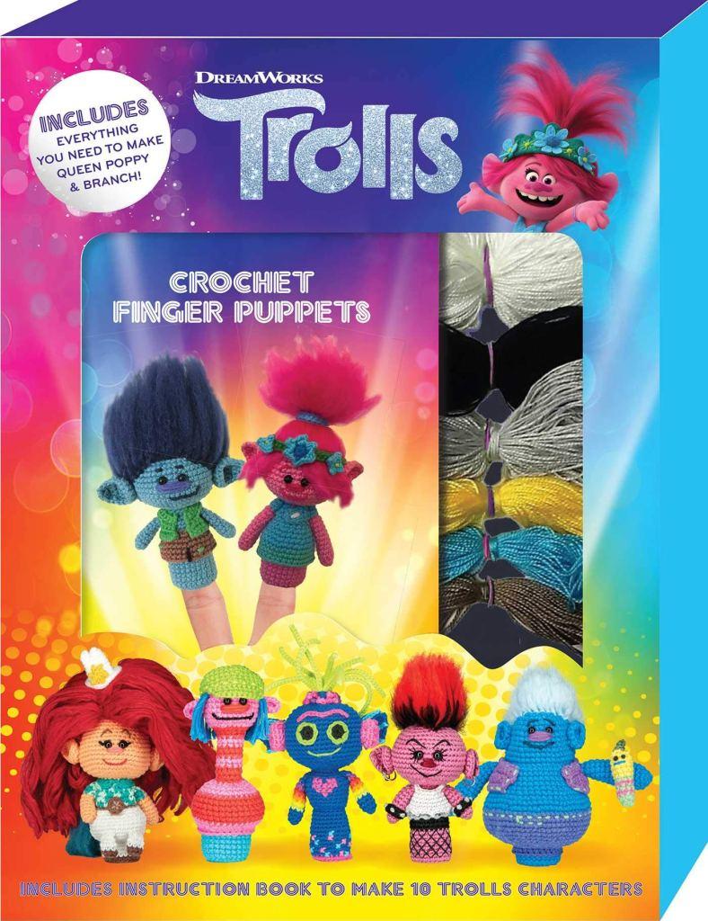 DreamWorks Trolls Crochet Finger Puppets