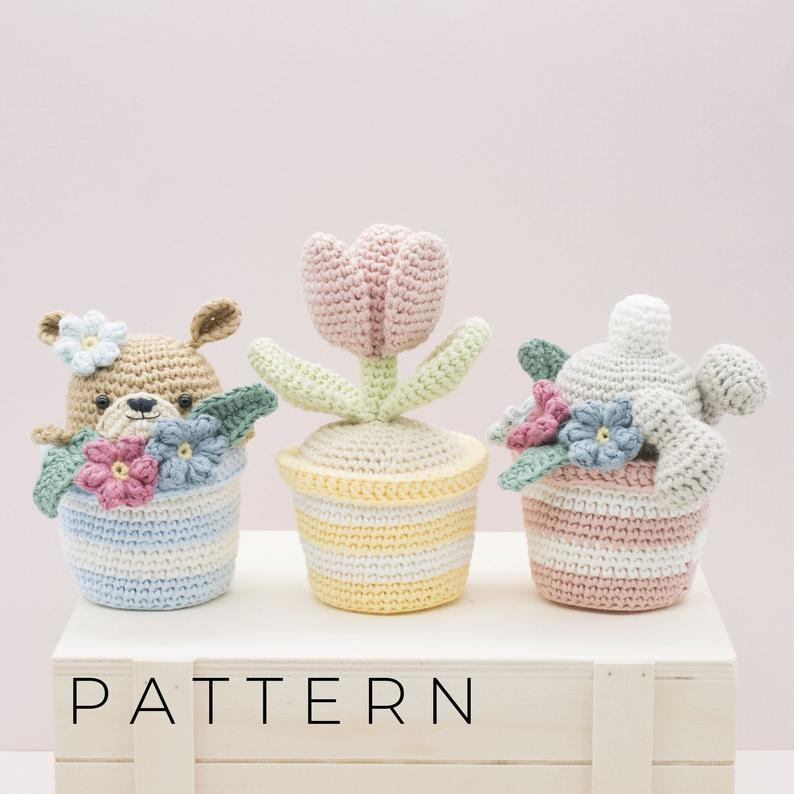 Amigurumi crochet The Pots