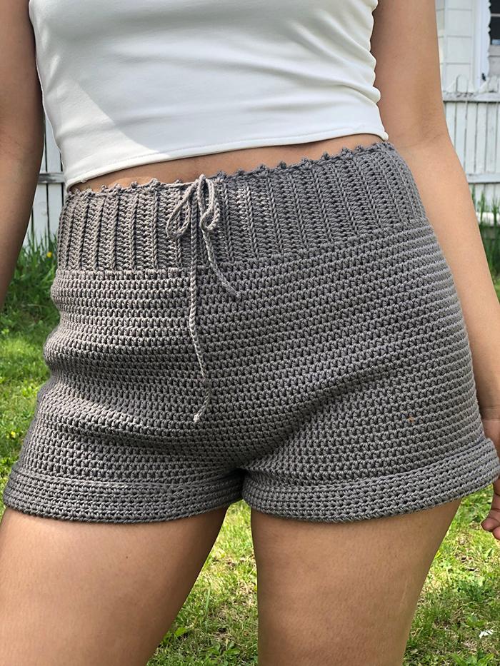 Crochet Summer Shorts Pattern