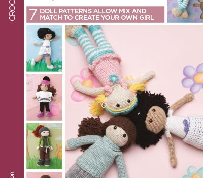 Besties – Every Girl Needs a Friend – 7 Doll Patterns Allow Mix and Match to Create Your Own Girl