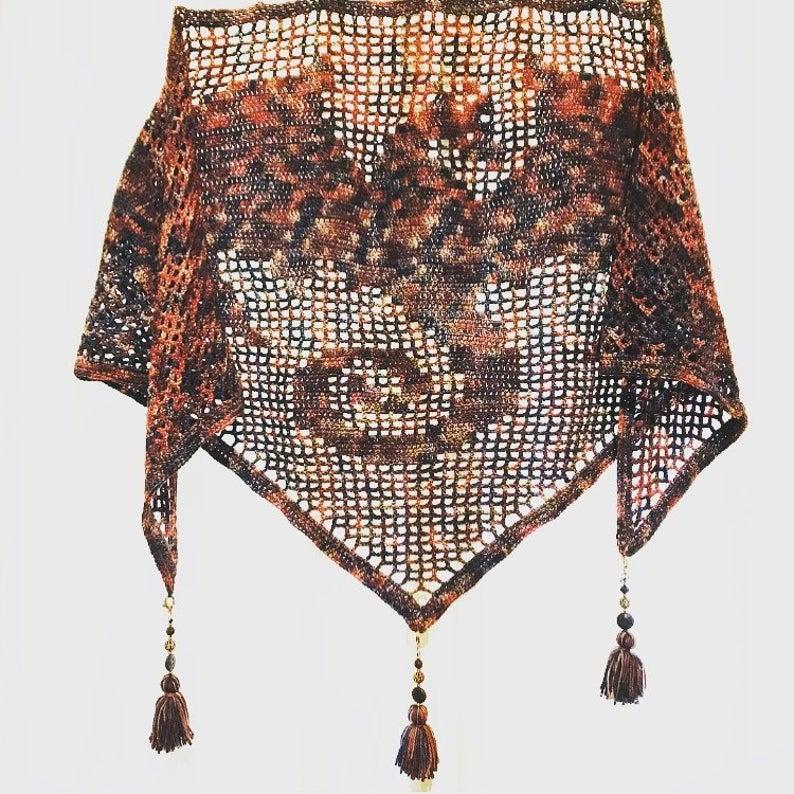 Crochet Dragon Shawl