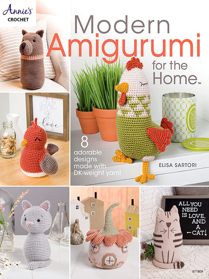 Modern Amigurumi for the Home