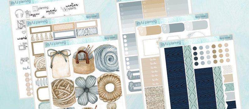 Crochet Weekly Planner Kit by JoyfulPlanningca