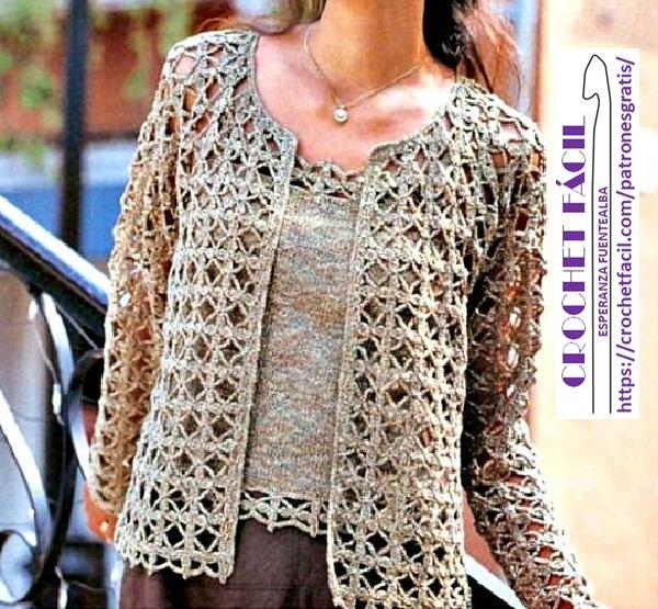 gran selección de 2019 venta online últimos lanzamientos Chaqueta Mujer – Patrones de crochet