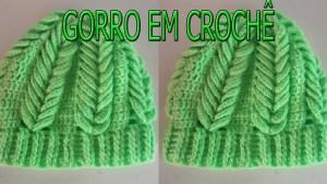 Gorro crochet paso a paso