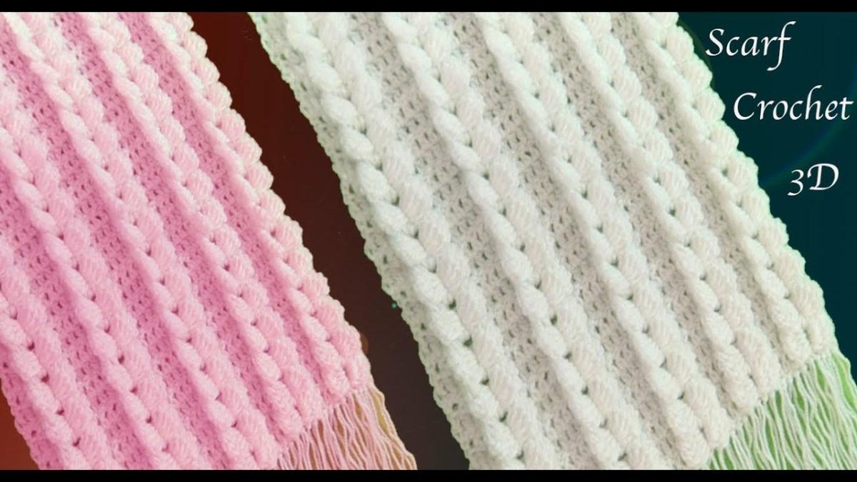 Bufanda en ganchillo | Crochet Full 🍁