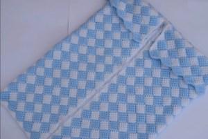 Porta bebe crochet