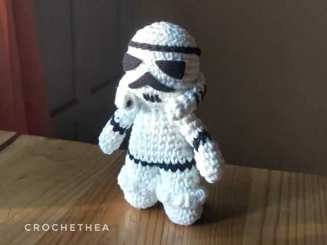 Merajut Boneka: Stormtrooper