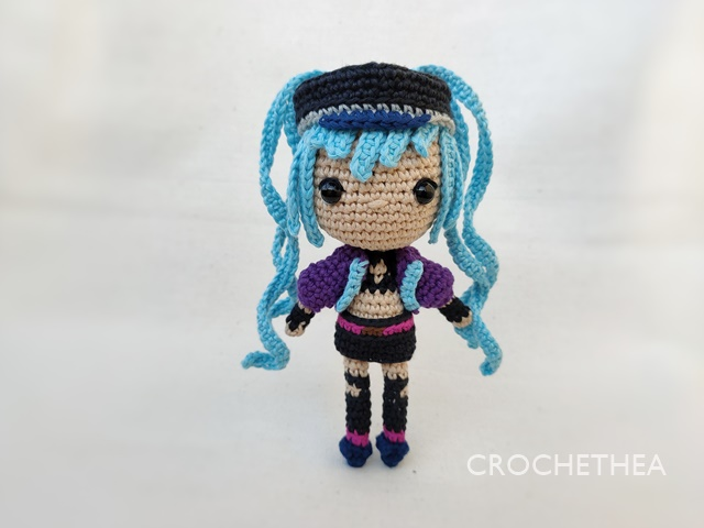 Crochet Chibi Doll Layla from Mobile Legends
