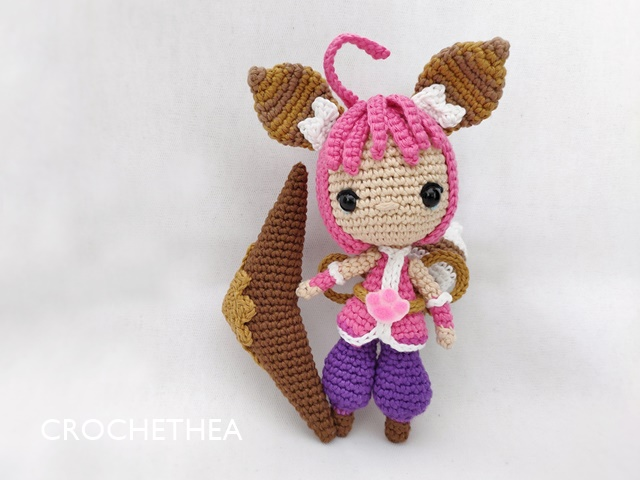 Crochet Chibi Doll Nana from Mobile Legends