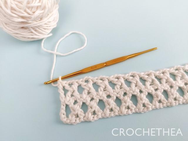 How to Treble Cross Stitch