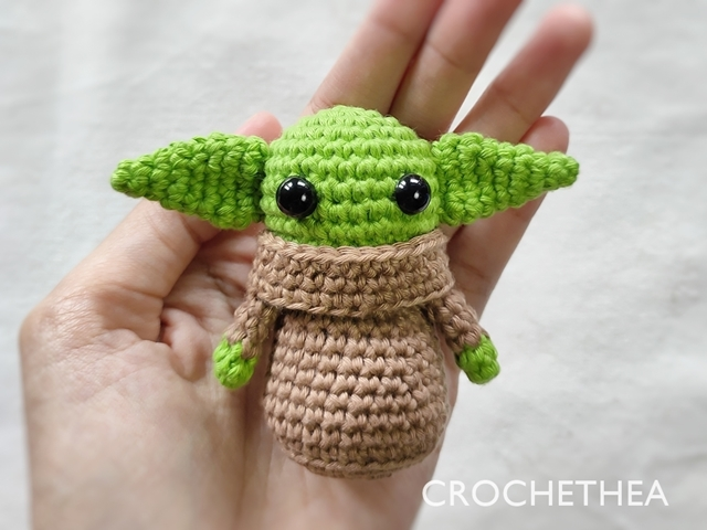 Boneka Rajut Baby Yoda – The Child