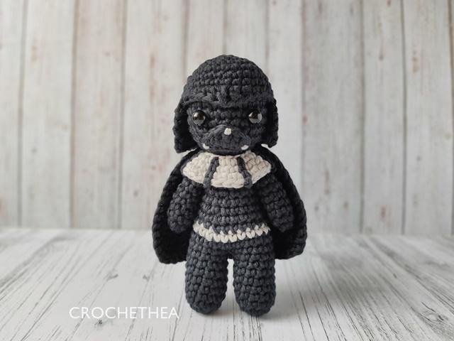 Boneka Rajut Darth Vader