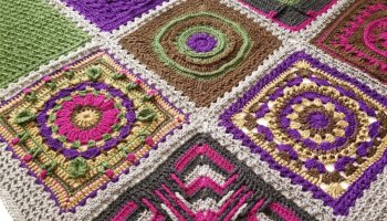 Star Portal Square- Patchwork Mystery Crochet Along Week 1