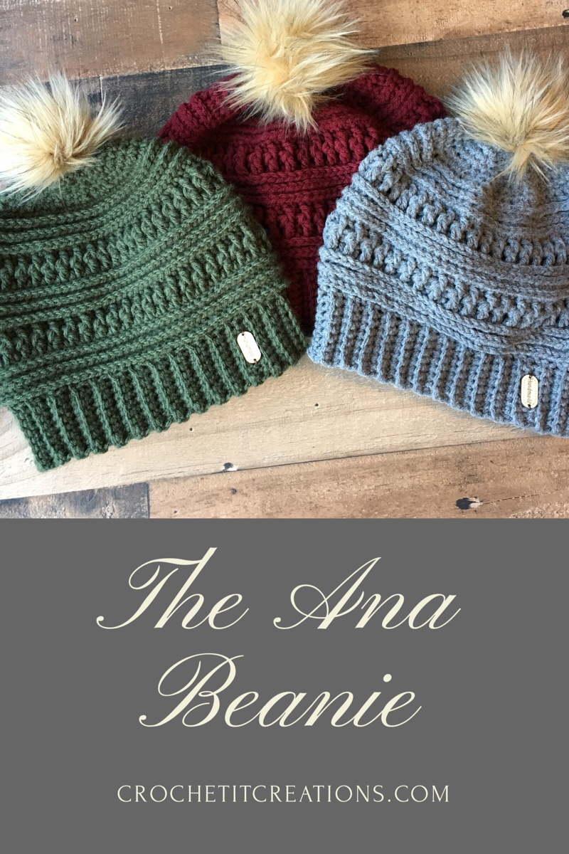 The Ana Beanie Crochet Pattern