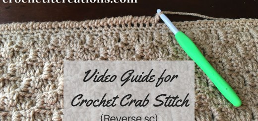 Reduce Visibility Of Joins On Camel Stitches Crochet It Creations