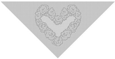 CrochetKim Free Crochet Pattern | Heart of Flowers Filet Shawl @crochetkim