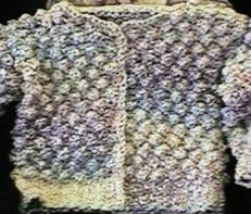 CrochetKim Free Crochet Pattern   Child's Homespun Jacket @crochetkim