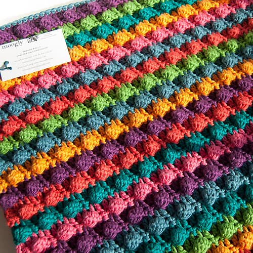 Blackberry Salad Afghan Free Crochet Pattern