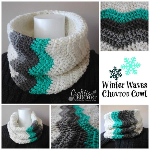 Free Crochet Pattern: Winter Waves