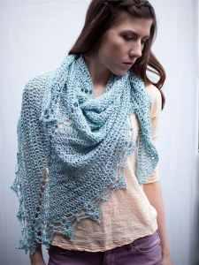 Free Crochet Pattern: Halstead Wrap