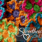 Free Crochet Pattern: Sweetheart Flowers