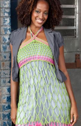 Free Crochet Pattern: Webby Sundress