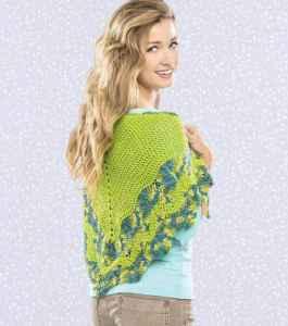 Free Crochet Pattern: Summer Sun Shawlette