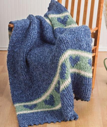 Cozy Heart Afghan Free Crochet Pattern Crochetkim