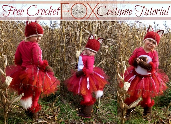 Free Crochet Pattern: Fox Costume