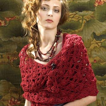 Naples Wrap | CrochetKim Free Crochet Pattern