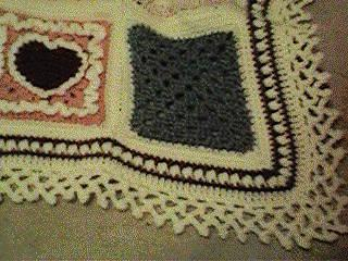 CrochetKim Free Crochet Pattern | Afghan Border @crochetkim