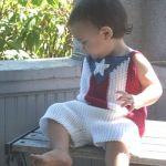 Boricua Baby Top and Shorts Set