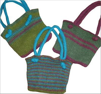 Easy Felted Bag Free Tunisian Crochet Pattern Crochetkim