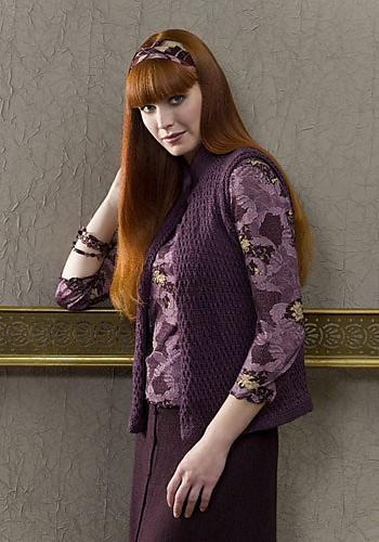 CrochetKim Free Knit Pattern | Richmond Vest