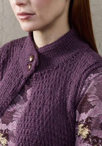 Richmond Vest | CrochetKim Free Knit Pattern