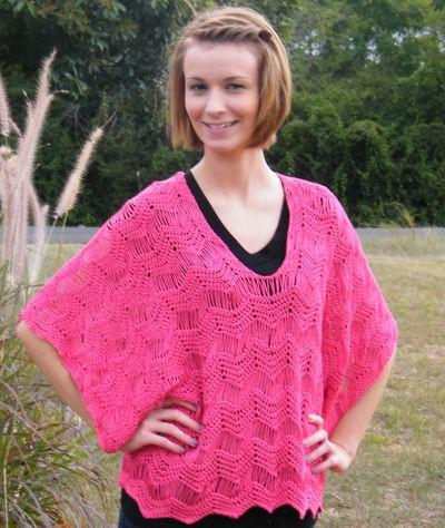 Rosaline Kimono Tunic Free Crochet Pattern