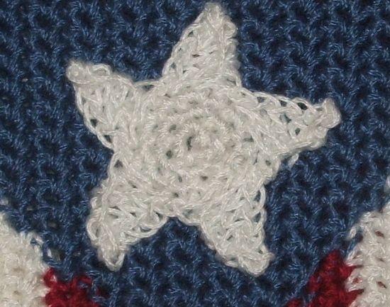 Star Embellishment Free Crochet Pattern Crochetkim