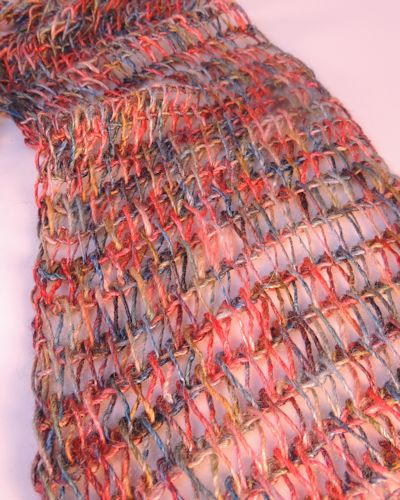 Drop Stitch Scarf Free Tunisian Crochet Pattern Crochetkim