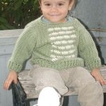 Versicolor Baby Pullover